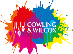 Cowling and Wilcox Paint Splash Logo 250