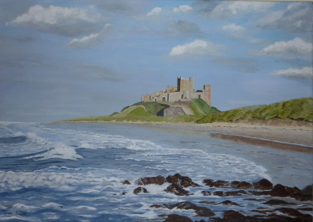 Janet Scott - Bamburgh Castle