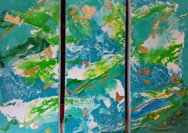 Lynda Colley - Triptych